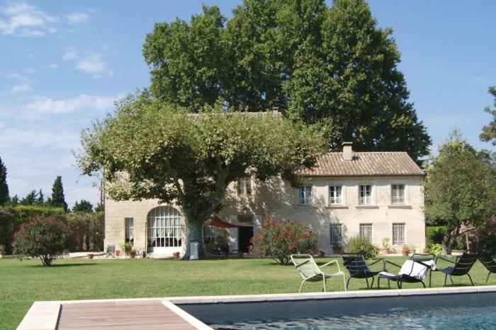 chambres d'hotes de charme - La Ferme de Gigognan - Avignon