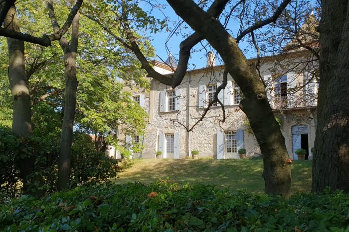 chambres d'hotes de charme - Château du Haut Livron - Vallée de la Drôme