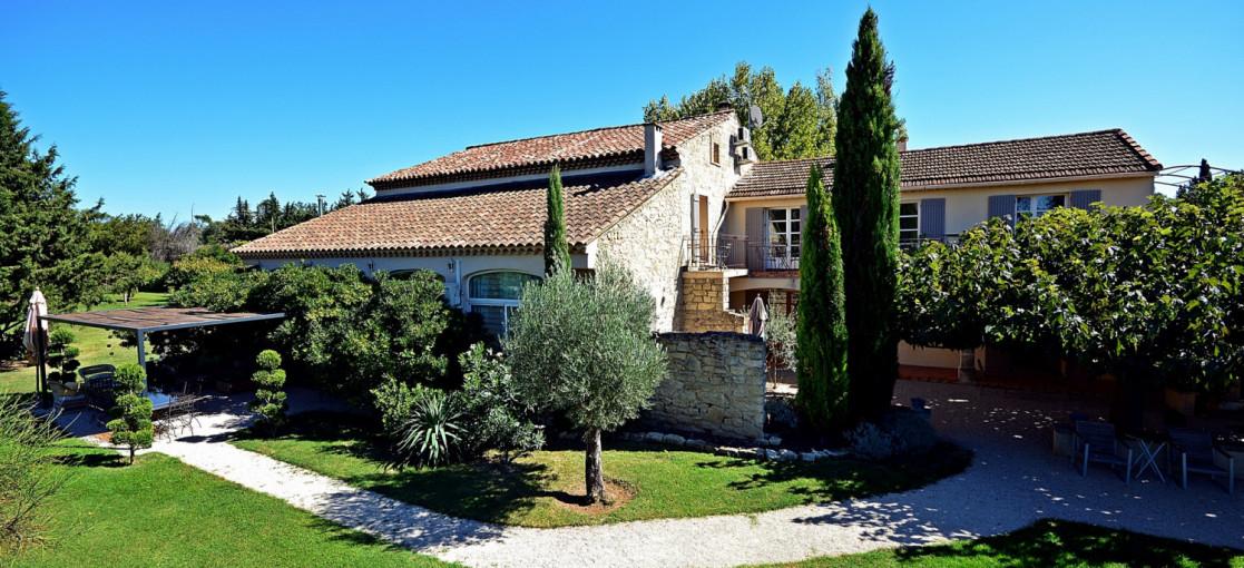 Chambres d'hôtes Vaucluse et Ventoux Mas Les Fleurs d'Hilaire